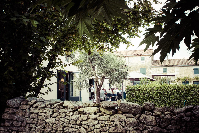 Cadre nature – Restaurant de Tradition La Virgule – Niort