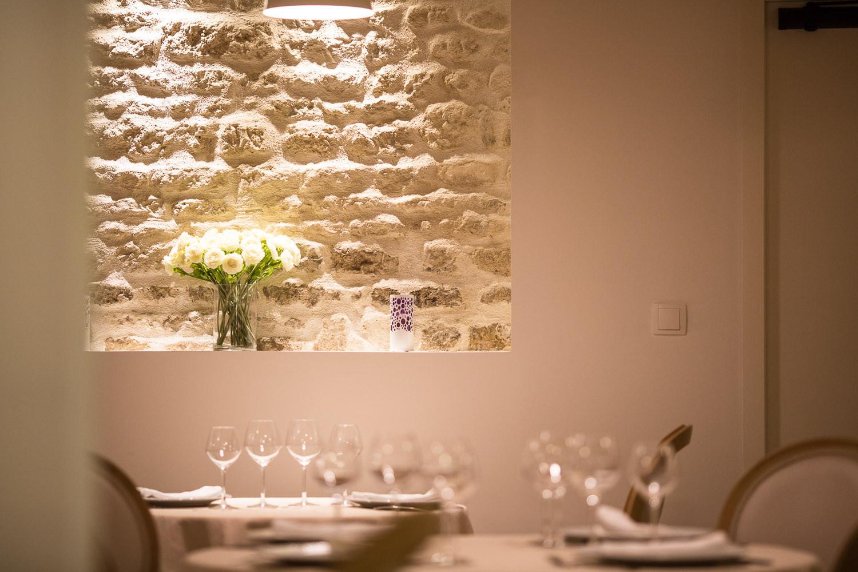 Salle Cosy – Restaurant de Tradition La Virgule – Niort